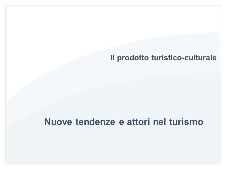 Turismo culturale: tendenza in crescita La cultura è nettamente al primo posto tra le motivazioni del turismo straniero in Italia.