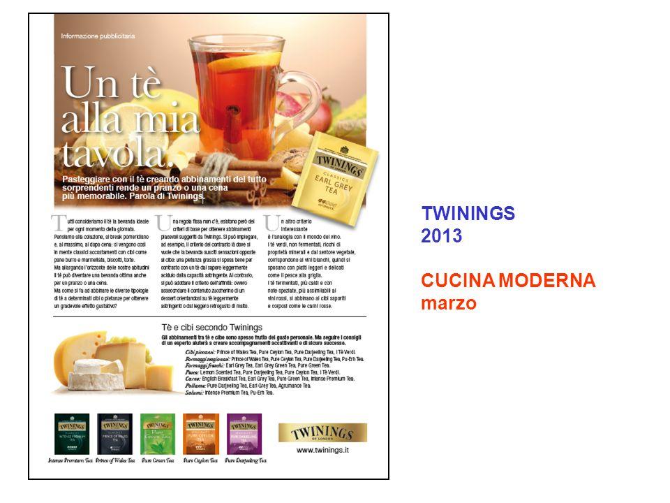 TWININGS 2013 CUCINA MODERNA marzo