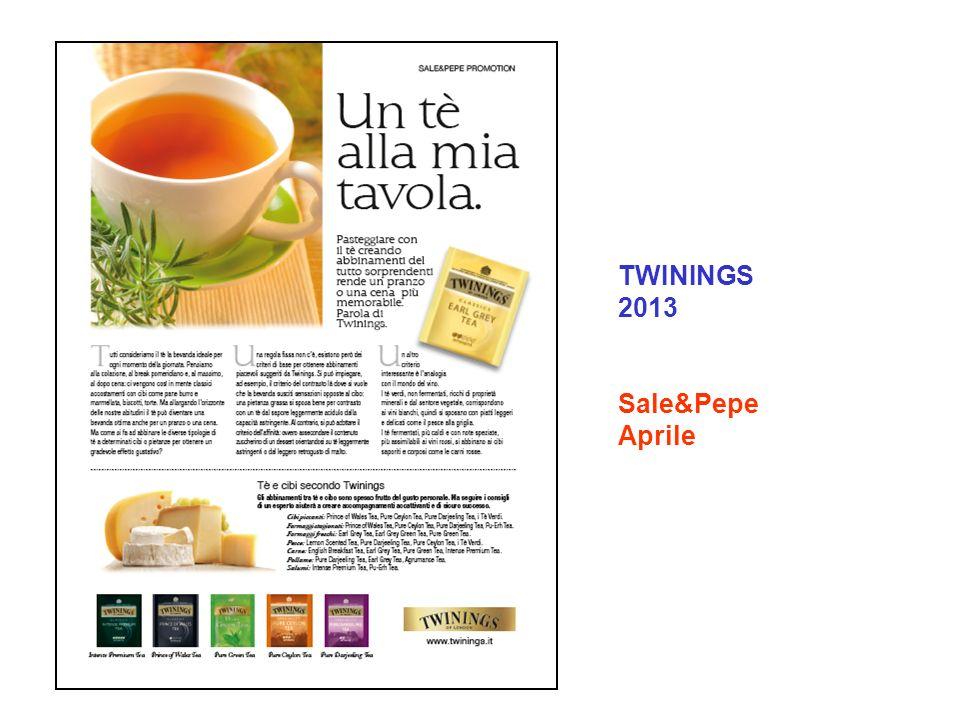 TWININGS 2013 Sale&Pepe Aprile
