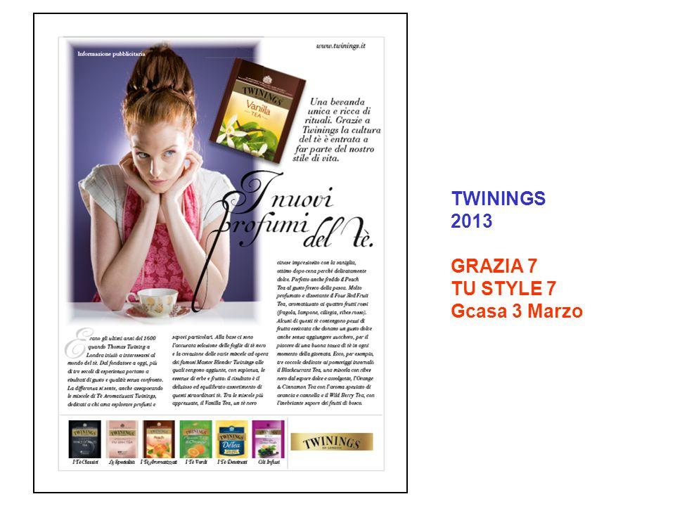 TWININGS 2013 GRAZIA 7 TU STYLE 7 Gcasa 3 Marzo