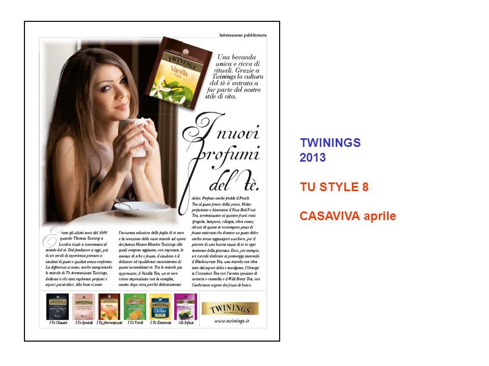 TWININGS 2013 TU STYLE 8 CASAVIVA aprile