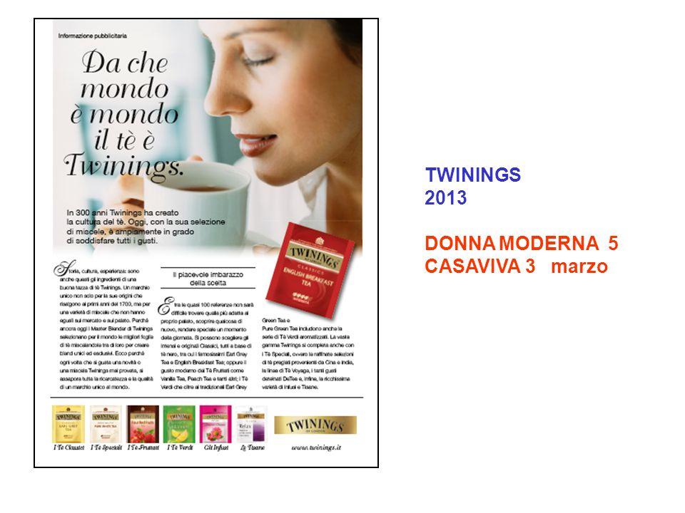 TWININGS 2013 DONNA MODERNA 5 CASAVIVA 3 marzo