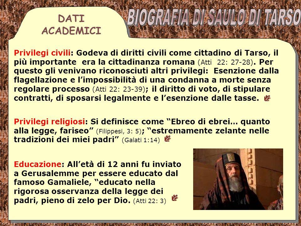 Rapporto con il Sinedrio: Fu scelto membro del sinedrio come ricompensa alla sua partecipazione alla morte di Stefano.