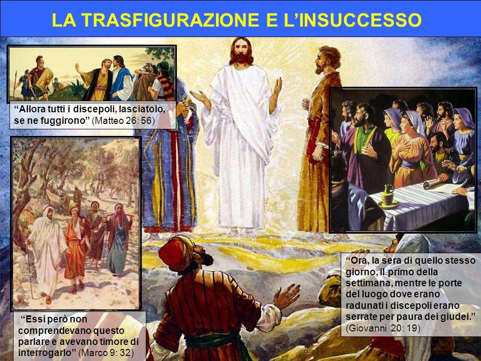 Allora tutti i discepoli, lasciatolo, se ne fuggirono (Matteo 26: 56) Essi però non comprendevano questo parlare e avevano timore di interrogarlo (Mar
