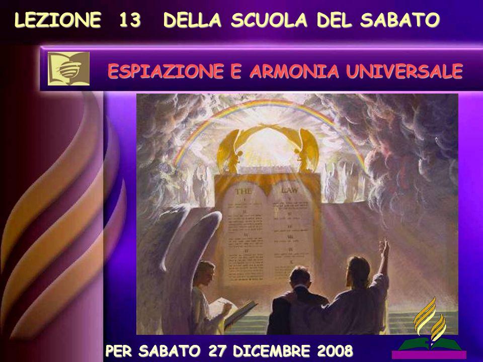 1° passo:Un giudizio universale che si svolge attualmente in cielo.