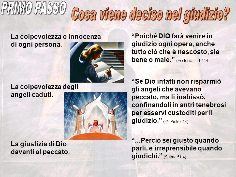 Alla Seconda Venuta di Gesù, si sarà già deciso chi sarà salvato e chi sarà condannato.