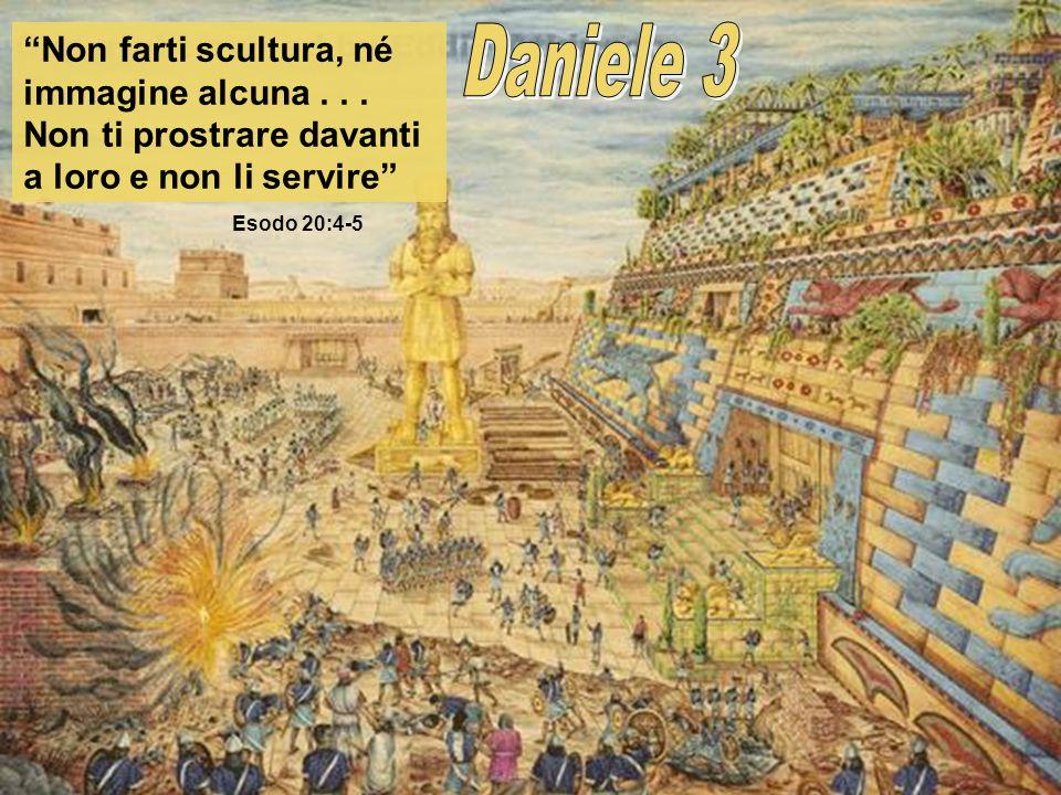 Il principio di ubbidire ai Dieci Comandamenti li portò ad avere la ferma determinazione di non prostrarsi davanti alla statua doro