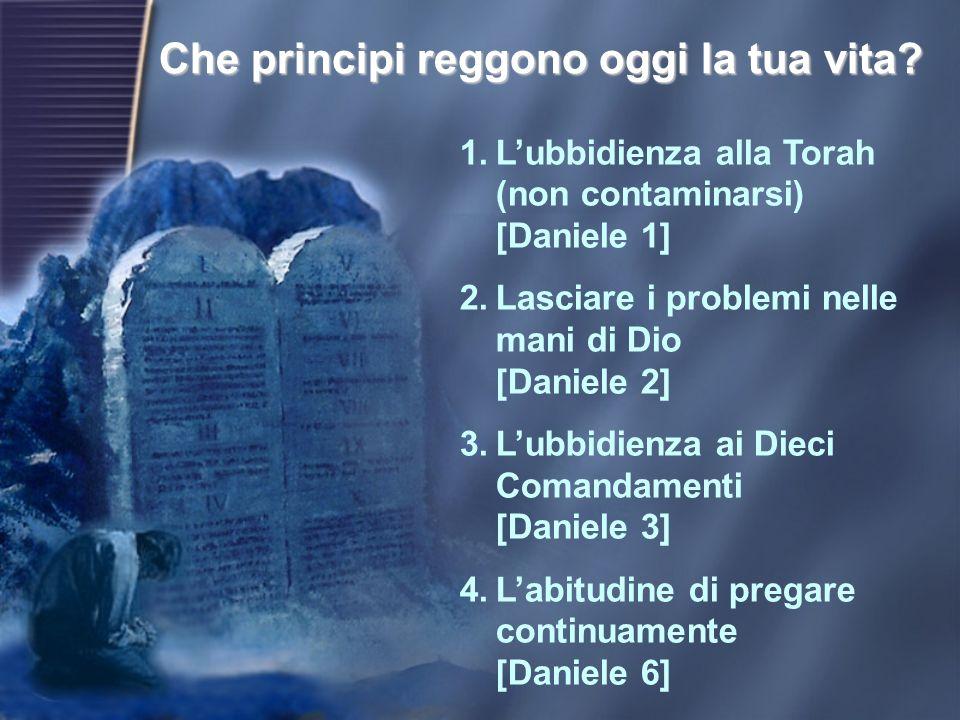 Così come Dio chiamò Daniele a testimoniare per lui in Babilonia, oggi chiama anche noi a essere i suoi testimoni nella nostra società.
