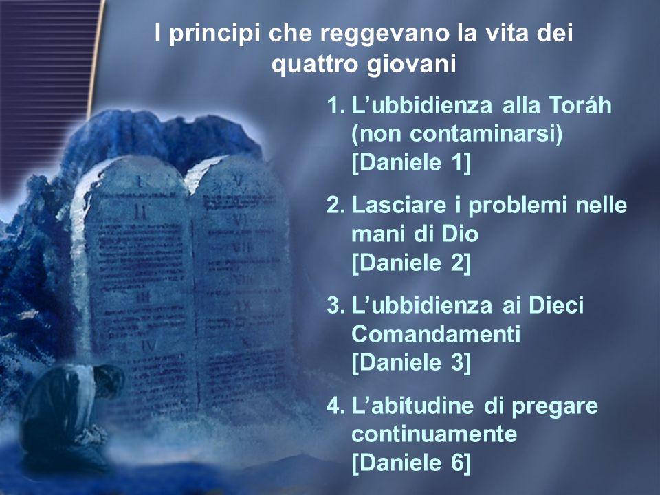 Daniele prese in cuor suo la decisione di non contaminarsi (Daniele 1:8)