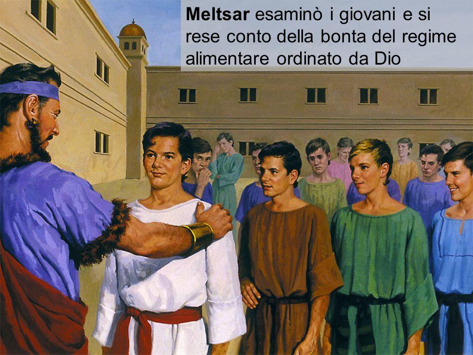 Nabucodonosor li trovò dieci volte superiori rispetto al resto dei loro compagni Che straordinaria testimonianza.