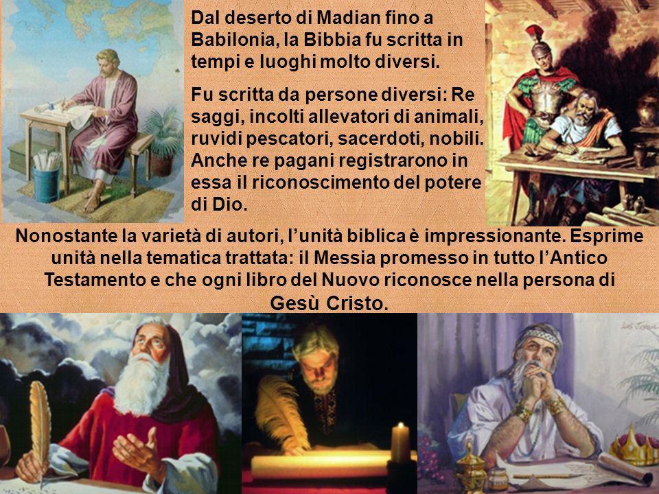 La natura, la coscienza, i profeti e la Parola scritta sono dei mezzi scelti da Dio per comunicare con lumanità e tutti mirano alla rivelazione massima: GESÙ
