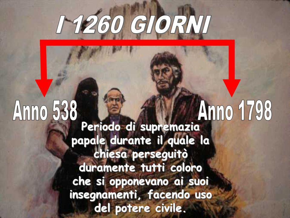 Periodo di supremazia papale durante il quale la chiesa perseguitò duramente tutti coloro che si opponevano ai suoi insegnamenti, facendo uso del pote