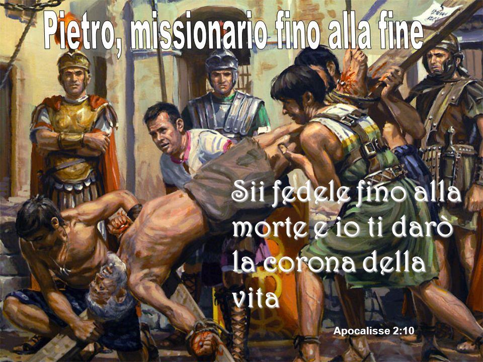 Sii fedele fino alla morte e io ti darò la corona della vita Apocalisse 2:10