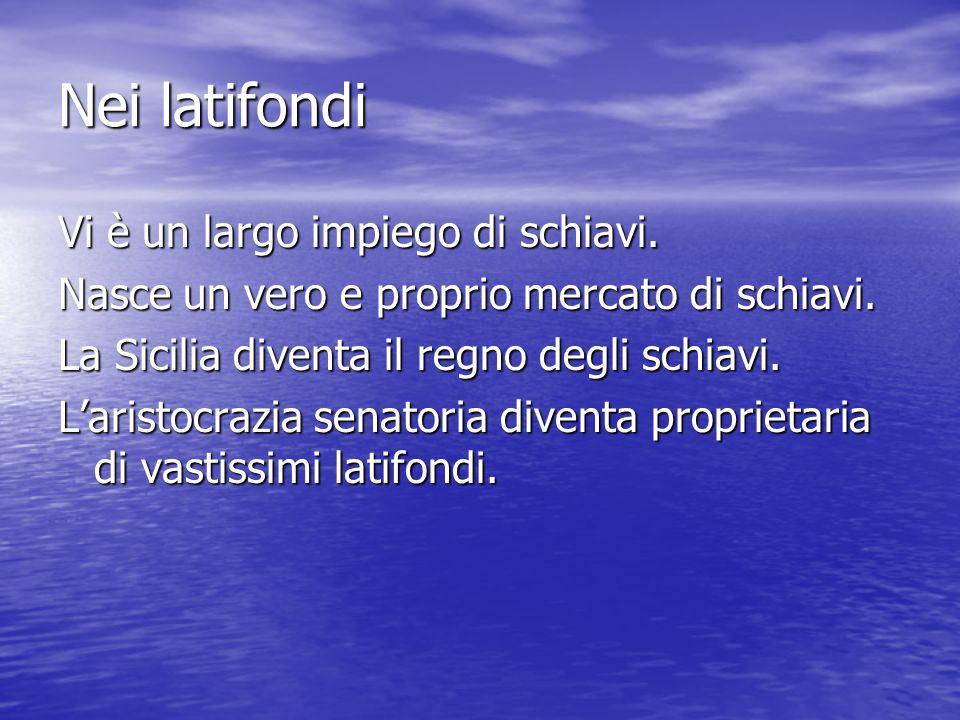 Problemi esteri Gli alleati italici, i socii, avevano partecipato alle guerre apportando il loro contributo.