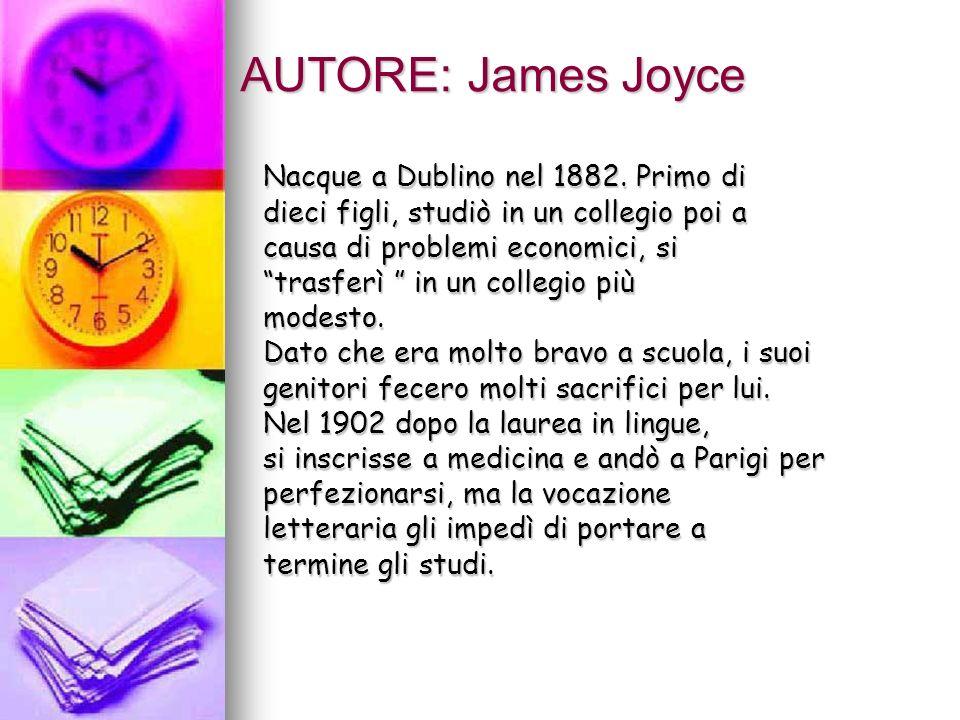 Nel 1905 assieme alla moglie Nora, si trasferì a Trieste,tappa cruciale del suo lungo esilio, dove troverà impiego come insegnante dinglese.