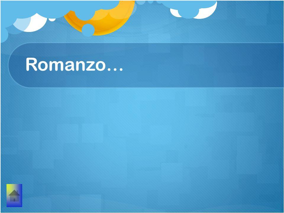 Romanzo…