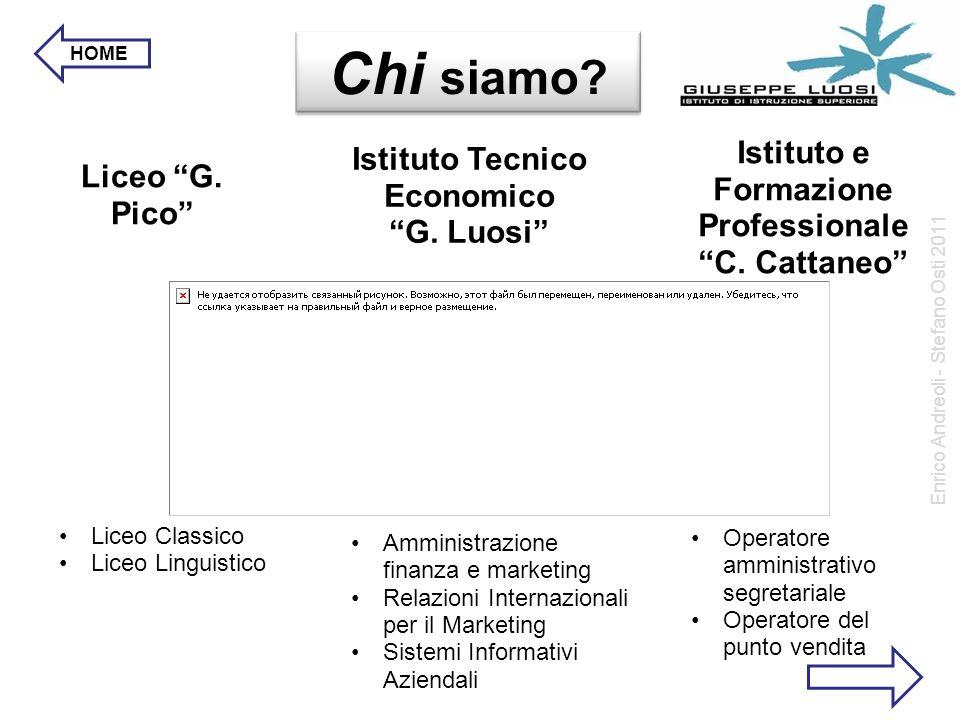Liceo G.Pico Istituto Tecnico Economico G. Luosi Istituto e Formazione Professionale C.