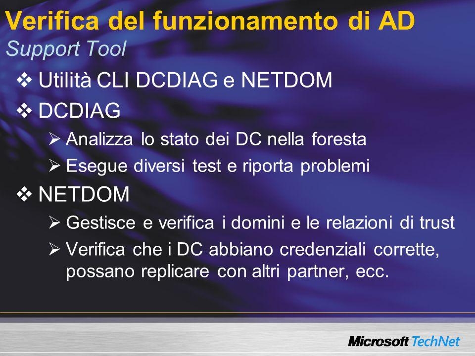 Per maggiori informazioni… Technet www.micrsoft.com/technet Technet italia www.microsoft.com/italy/technet Windows Server 2003 www.microsoft.com/WindowsServer2003