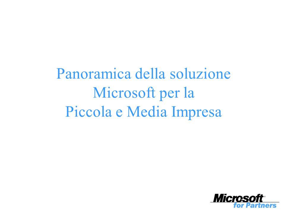 Panoramica della soluzione Microsoft per la Piccola e Media Impresa