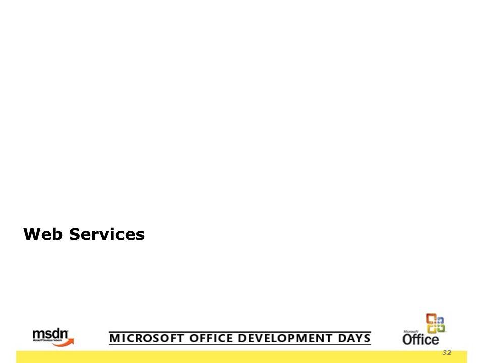 32 Web Services