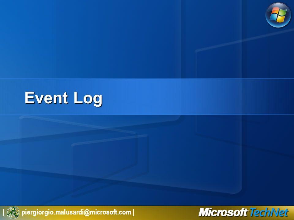 | piergiorgio.malusardi@microsoft.com | Event Log