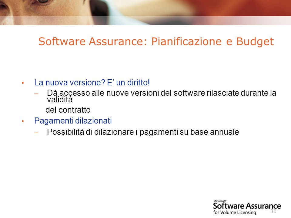 Worldwide Licensing and Pricing FY06 30 La nuova versione.