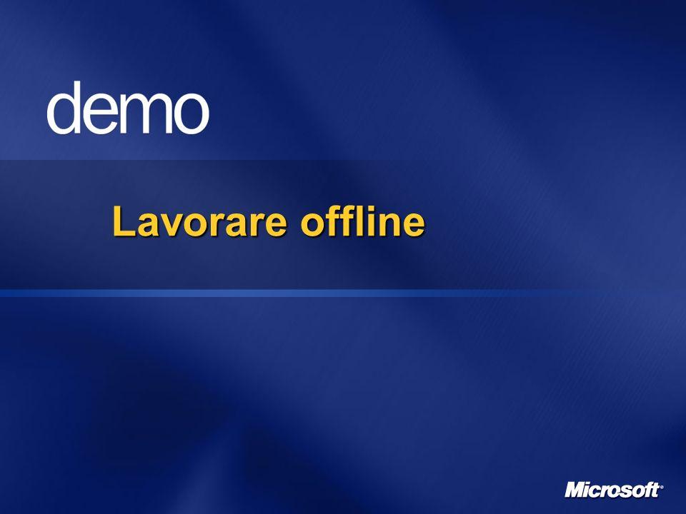 Lavorare offline