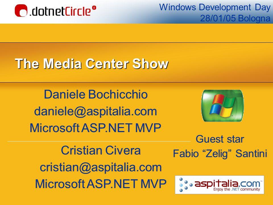Agenda Cosè Windows XP Media Center Edition.