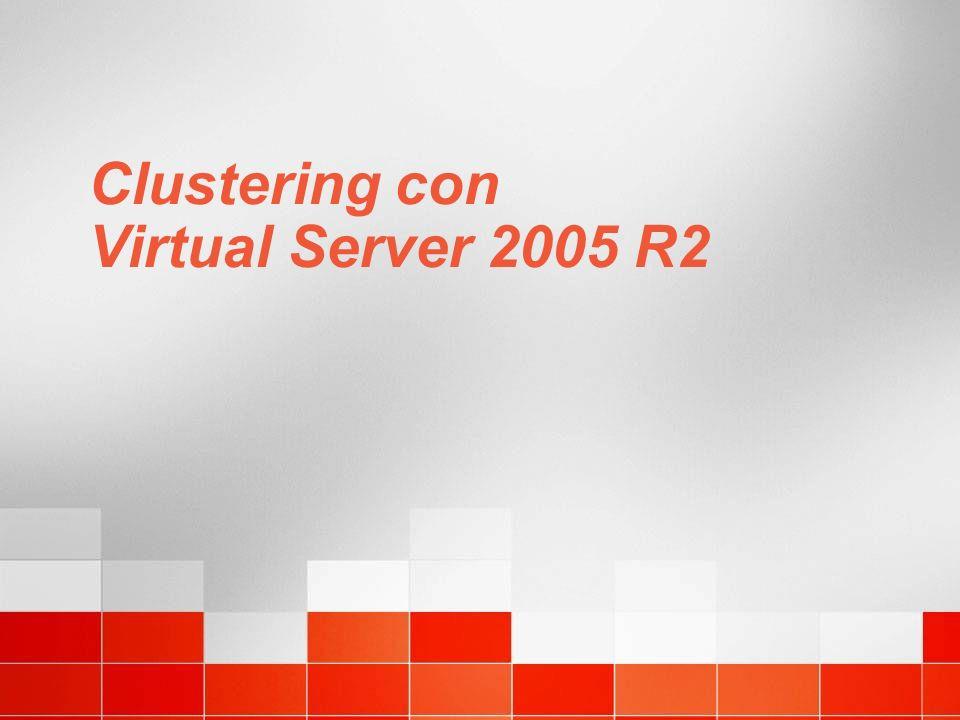 Clustering con Virtual Server 2005 R2