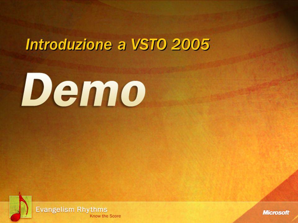 Introduzione a VSTO 2005