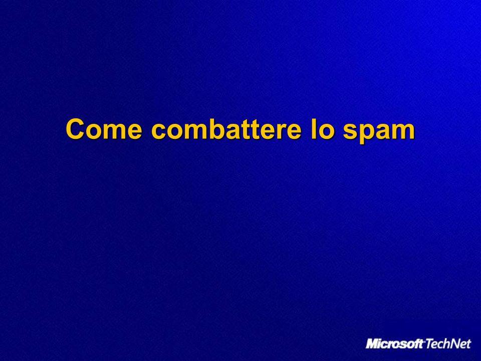 Come combattere lo spam