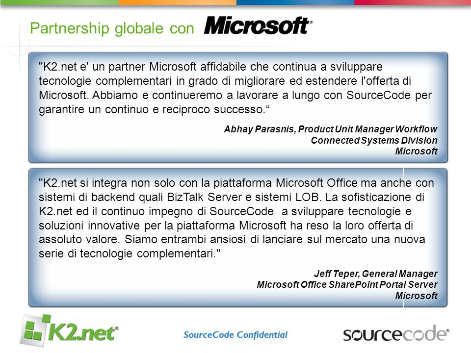 Partnership globale con