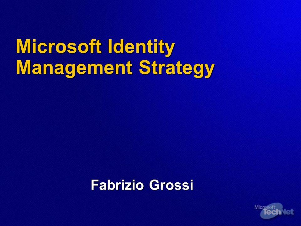 Microsoft Identity Management Strategy Fabrizio Grossi