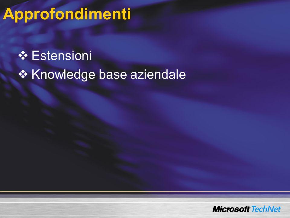 Approfondimenti Estensioni Knowledge base aziendale