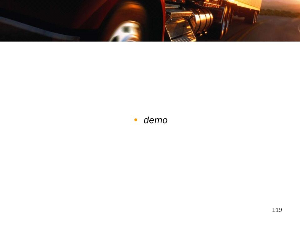 119 demo