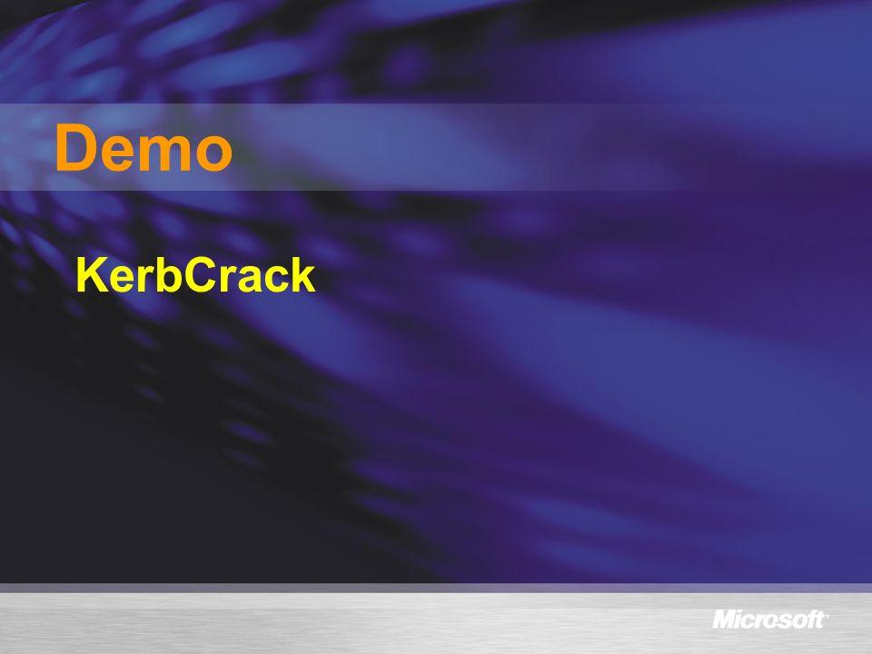 KerbCrack Demo