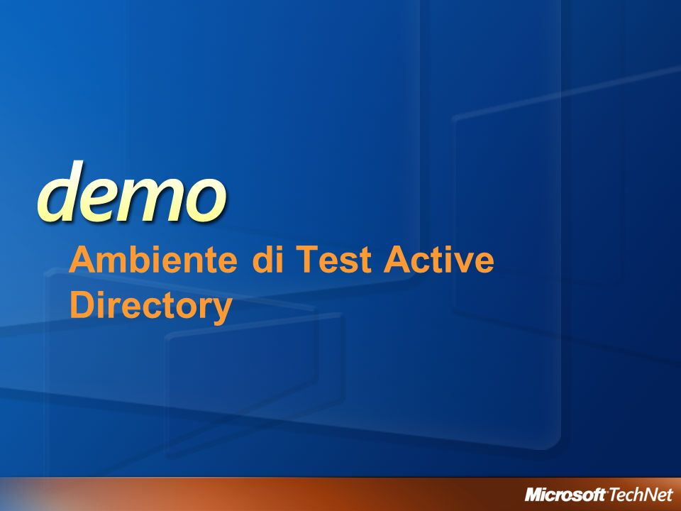 Ambiente di Test Active Directory