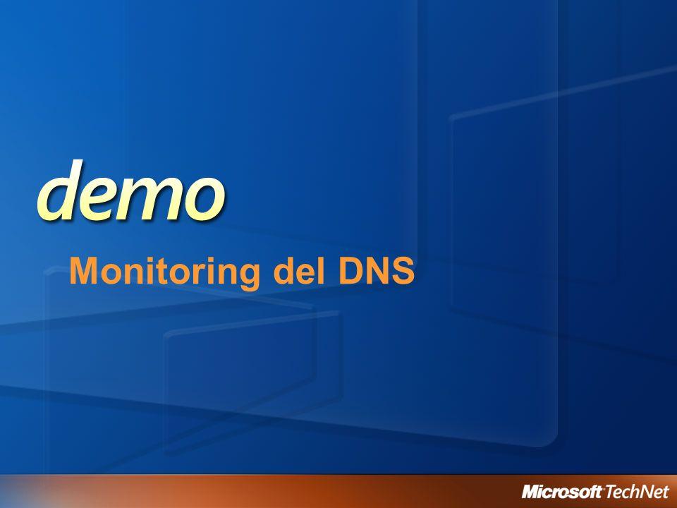 Monitoring del DNS
