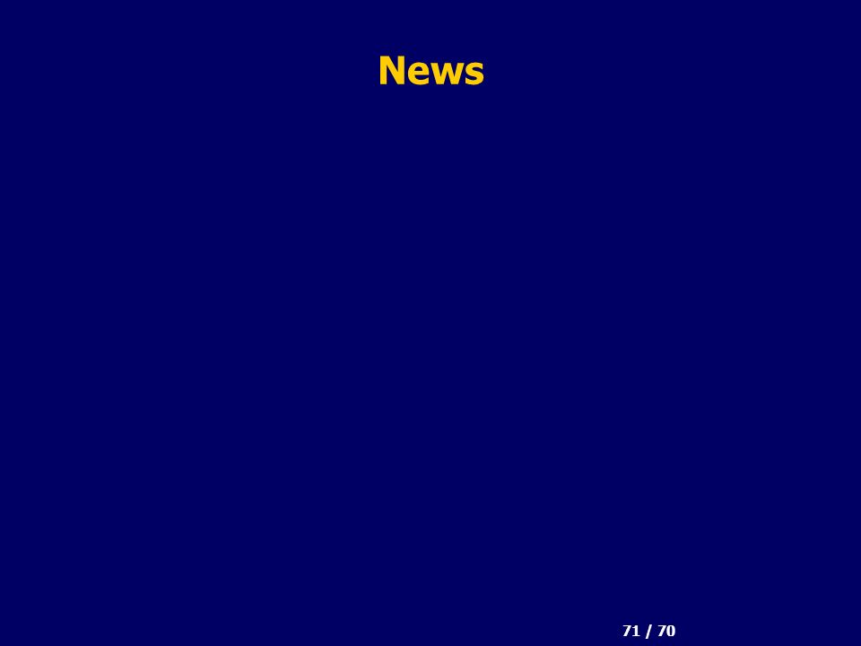 71 / 70 News