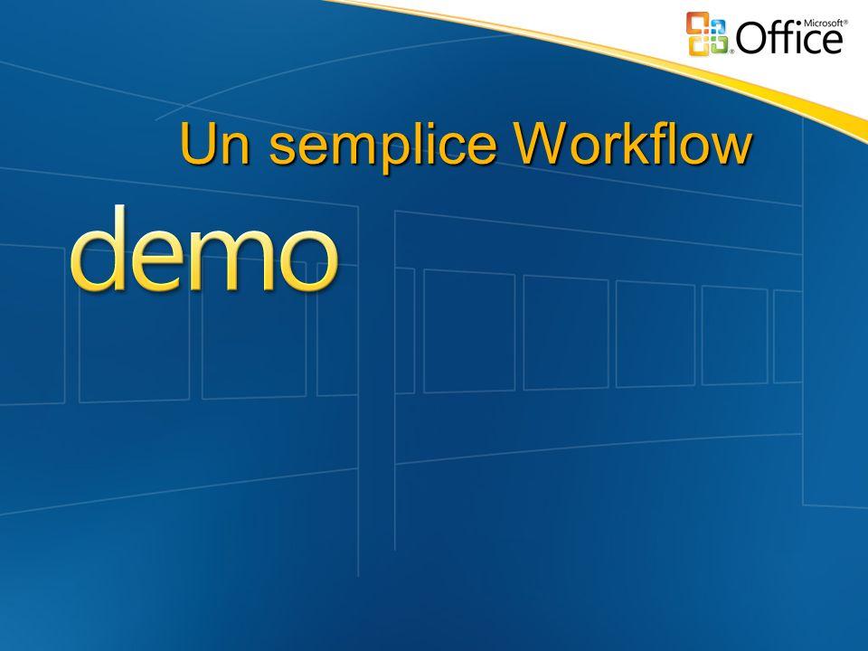 Un semplice Workflow