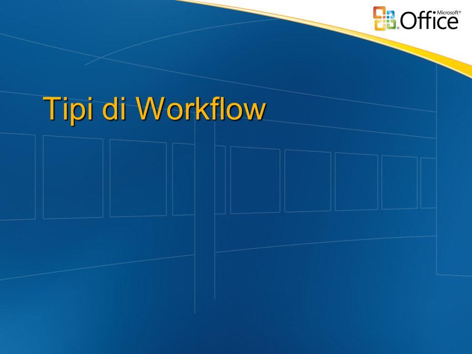 Tipi di Workflow