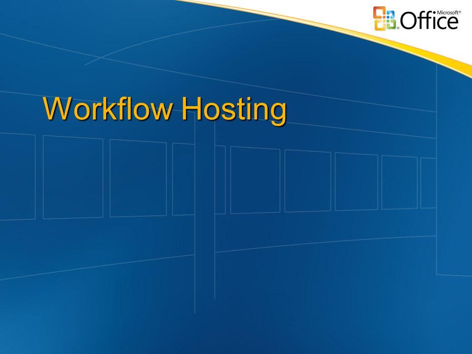 Workflow Hosting