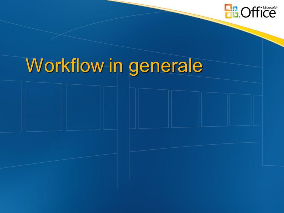 Workflow in generale