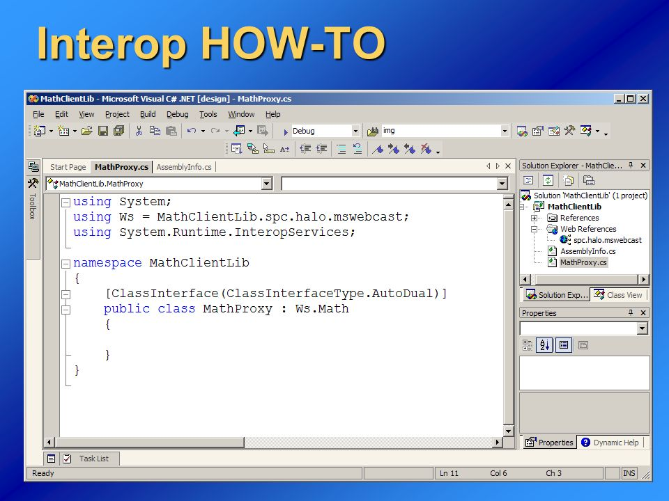 24 Interop HOW-TO