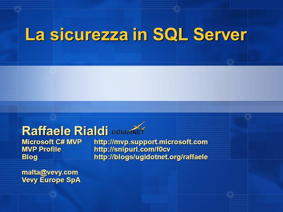 Raffaele Rialdi Microsoft C# MVPhttp://mvp.support.microsoft.com MVP Profilehttp://snipurl.com/f0cv Bloghttp://blogs/ugidotnet.org/raffaele malta@vevy