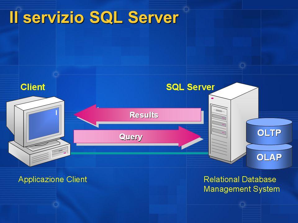 Il servizio SQL Server