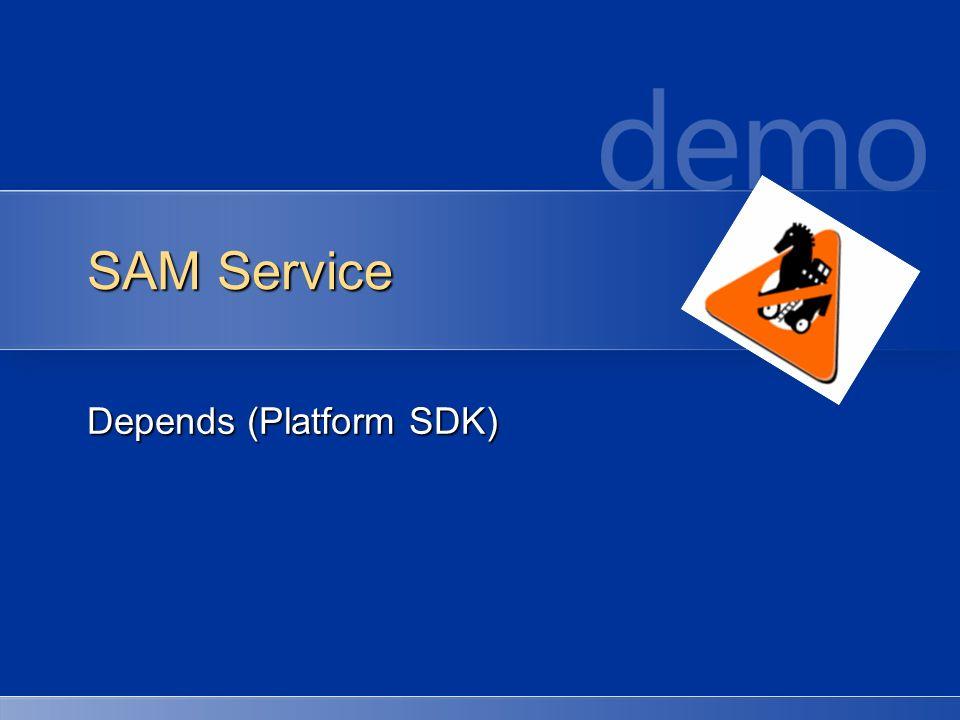 SAM Service Depends (Platform SDK)