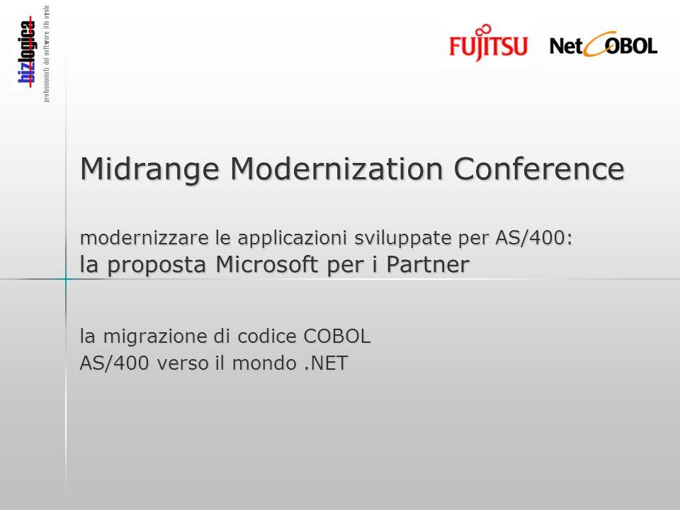 professionisti del software life cycle Midrange Modernization Conference modernizzare le applicazioni sviluppate per AS/400: la proposta Microsoft per