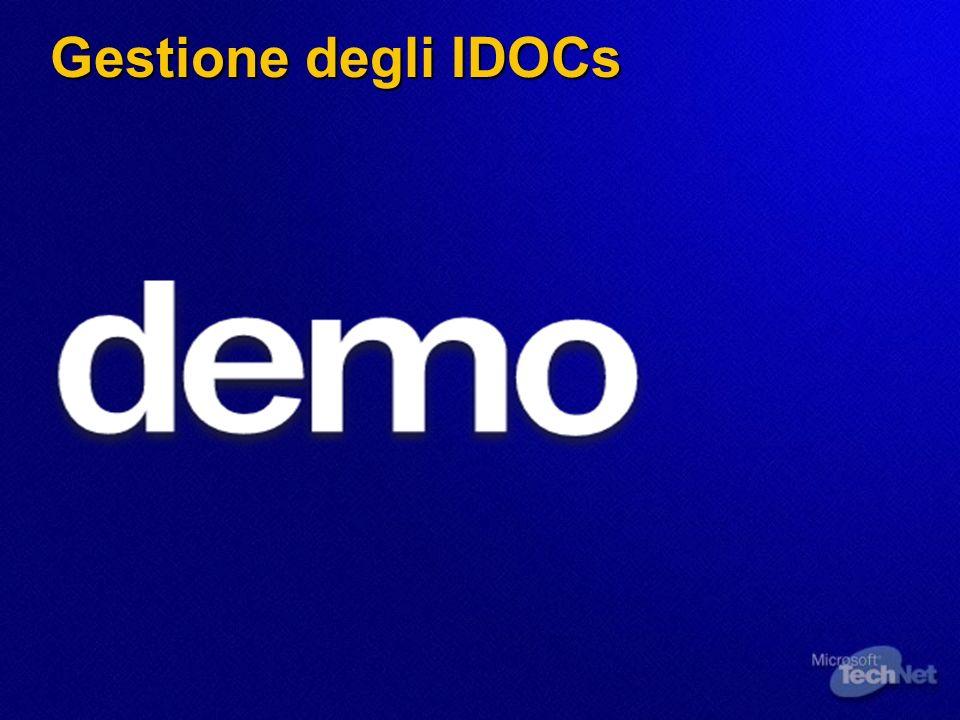 Gestione degli IDOCs