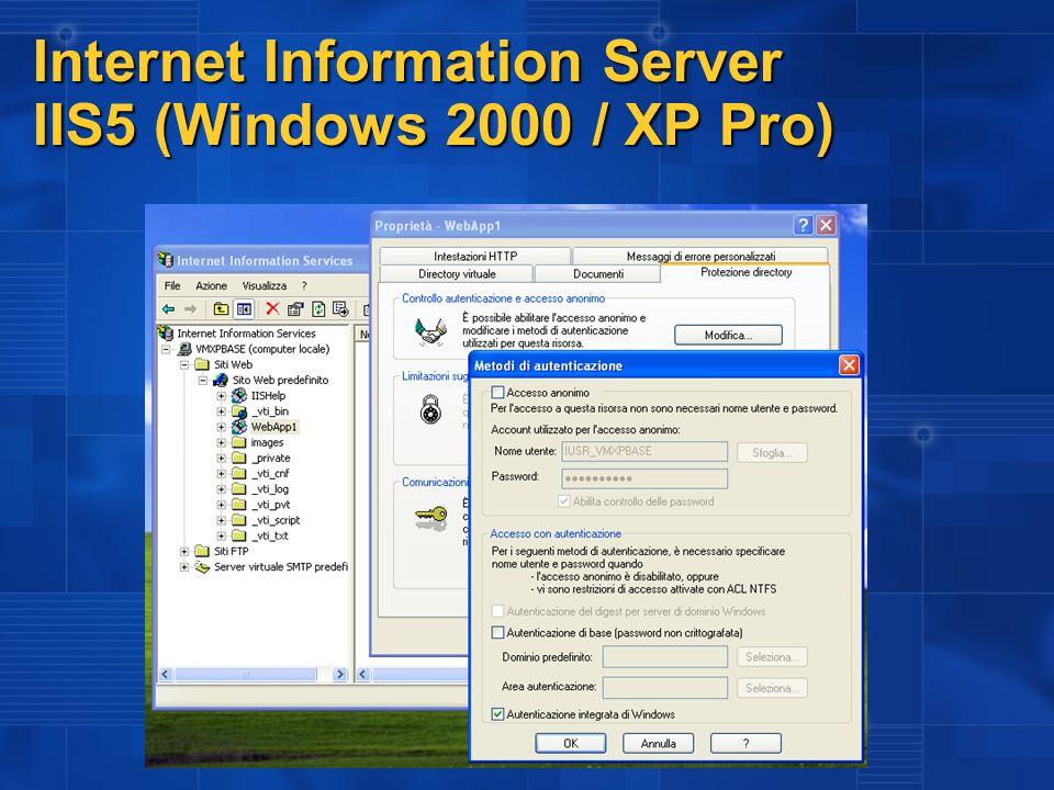 Internet Information Server IIS6 (Windows 2003)